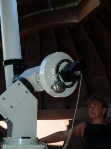 Sonnenbeobachtung am 8. Juli 2007 bei Ralf Mündlein in Lindelbach