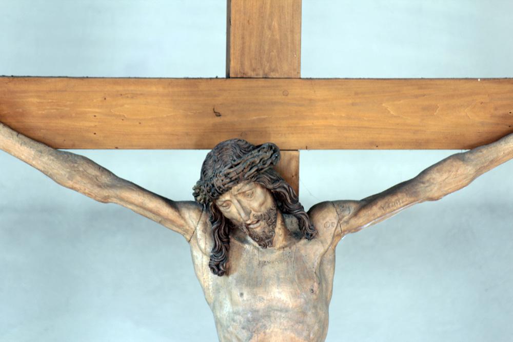 Riemenschneider Kruzifix in der kath. St. Nikolauskirche in Eisingen