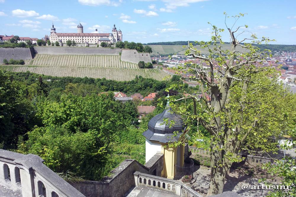 Festung Marienberg in Würzburg am Main