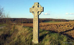 Irisches Kreuz in der Flur bei Hettstadt im Lkr. Würzburg