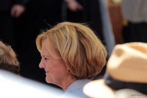 Karin Seehofer beim Tag der Franken am 6. Juli 2014 in Ochsenfurt im Lkr. Würzburg
