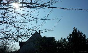 Partielle Sonnenfinsternis am 20. März 2015 in Eisingen