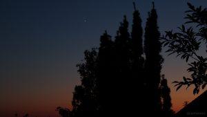 Konjunktion von Jupiter und Venus am 30. Juni 2015