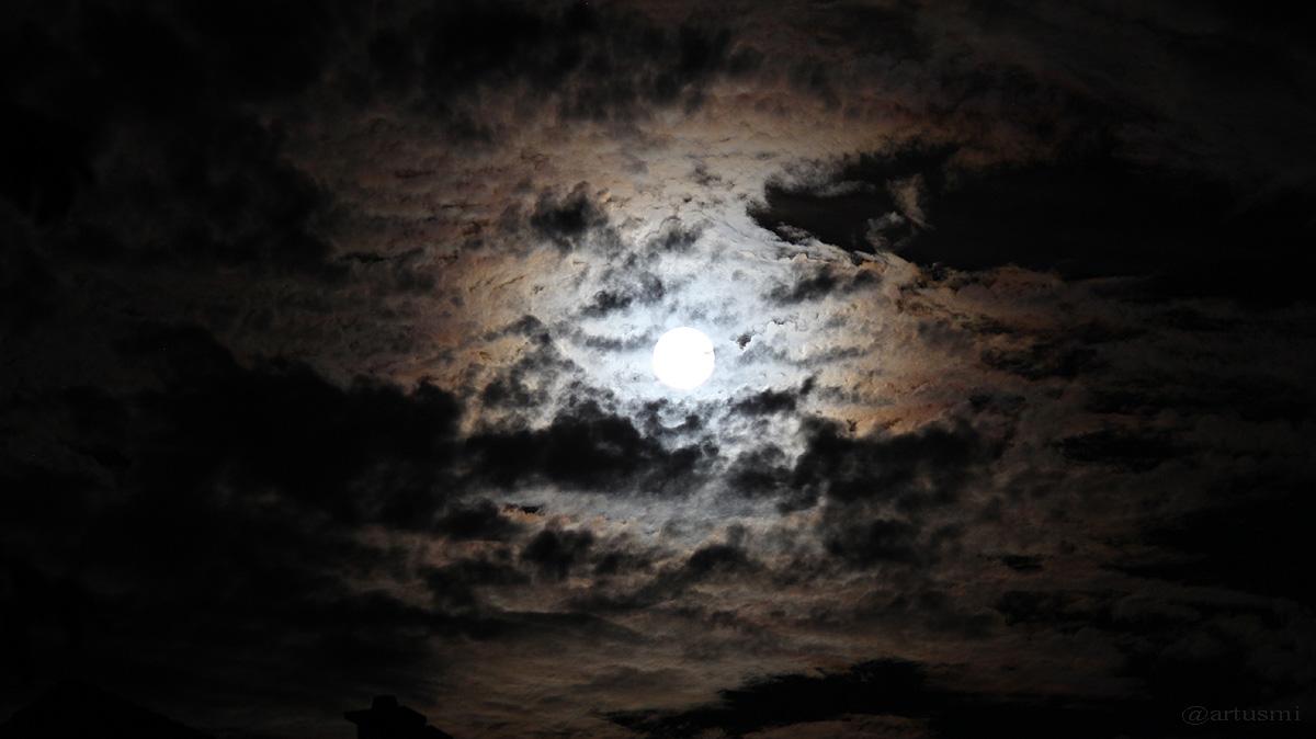 Vollmondnacht am 29. August 2015