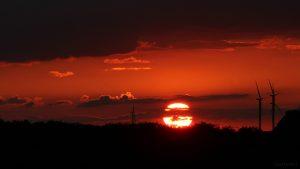 Sonnenuntergang am 2. Juni 2018 um 21:13 Uhr