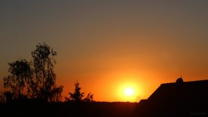 Sonnenuntergang am 21. Juni 2018 um 21:17 Uhr
