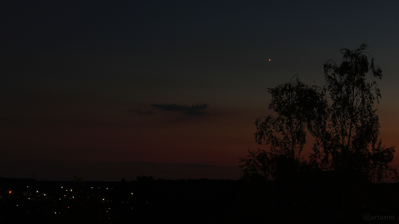 Venus am 27. Juni 2018 um 22:57 Uhr