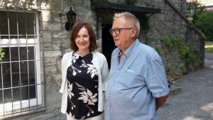 1. Bürgermeisterin Ursula Engert und Herbert Mehler