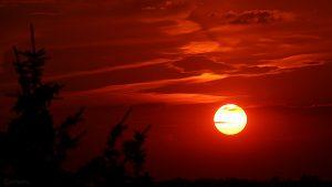 Sonnenuntergang am 20. Juli 2018 um 21:03 Uhr