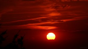 Sonnenuntergang am 20. Juli 2018 um 21:04 Uhr