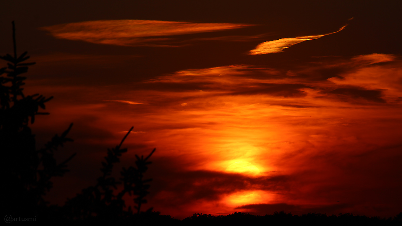 Sonnenuntergang am 26. Juli 2018 um 20:59 Uhr