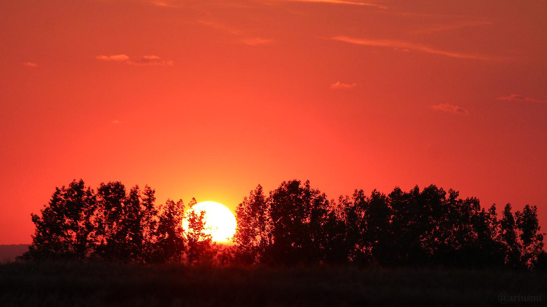 Sonnenuntergang am 27. Juli 2018 um 21:02 Uhr
