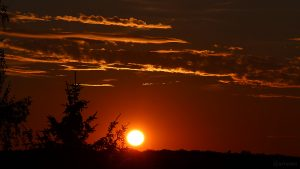 Sonnenuntergang am 29. Juli 2018 um 20:56 Uhr