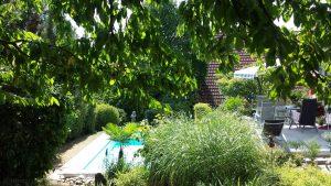 Unser Garten am 30. Juli 2018 um 15:18 Uhr
