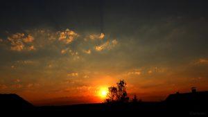 Sonnenuntergang am 6. August 2018 um 20:26 Uhr