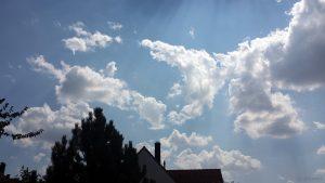 Wetterbild vom 9. August 2018 um 12:58 Uhr