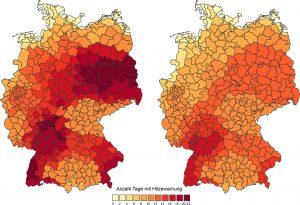 Hitzewarnsystem des DWD seit 2005 erfolgreich im Einsatz