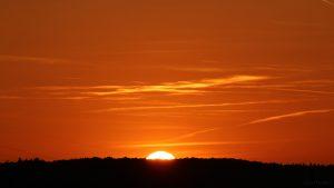 Sonnenuntergang am 4. Oktober 2018 um 18:48 Uhr