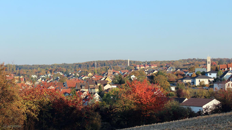 Eisingen am Wahlsonntag, 14. Oktober 2018 um 17:11 Uhr