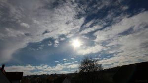 Wetterbild vom 1. November 2018 um 12:32 Uhr