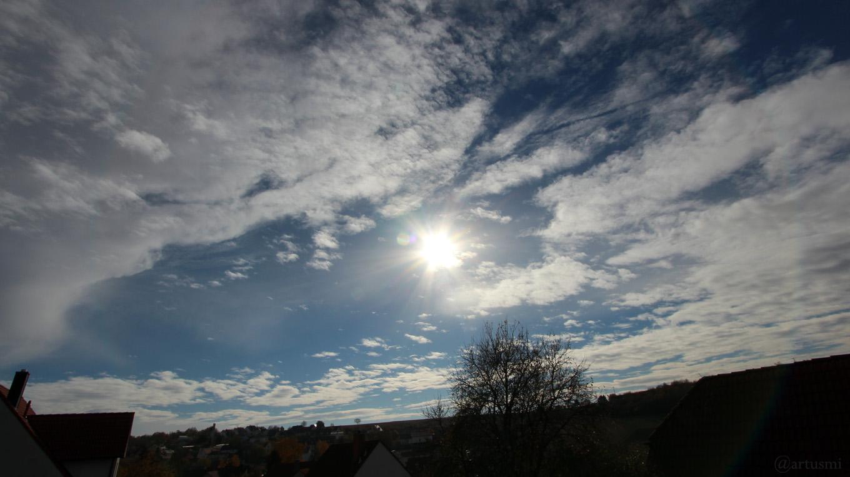 Das Wetter in Deutschland im November 2018