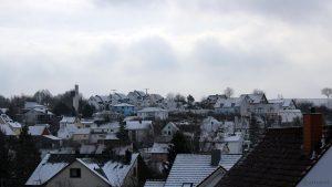 Wetterbild aus Eisingen vom 4. Januar 2019