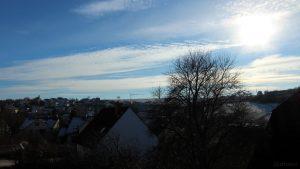 Wetterbild vom 19. Januar 2019
