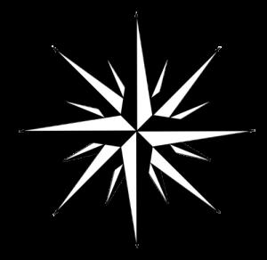 Himmelsrichtungen auf der Windrose