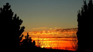 Sonnenuntergang am 14. Februar 2019 um 17:31 Uhr