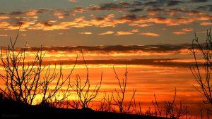 Sonnenuntergang am 14. Februar 2019 um 17:32 Uhr