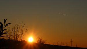 Sonnenuntergang am 16. Februar 2019 um 17:24 Uhr