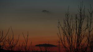 Merkur am 19. Februar 2019 um 18:37 Uhr am Westhimmel
