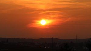 Sonnenuntergang am 23. März 2019 um 18:21 Uhr