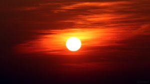 Sonnenuntergang am 23. März 2019 um 18:22 Uhr