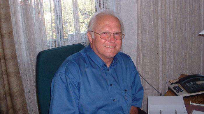 1. Bürgermeister Erich Günder am 9. September 2002