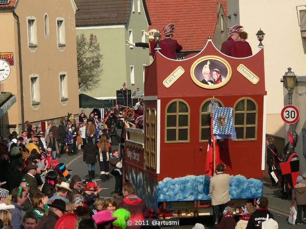 Faschingszug 2011 in Eisingen