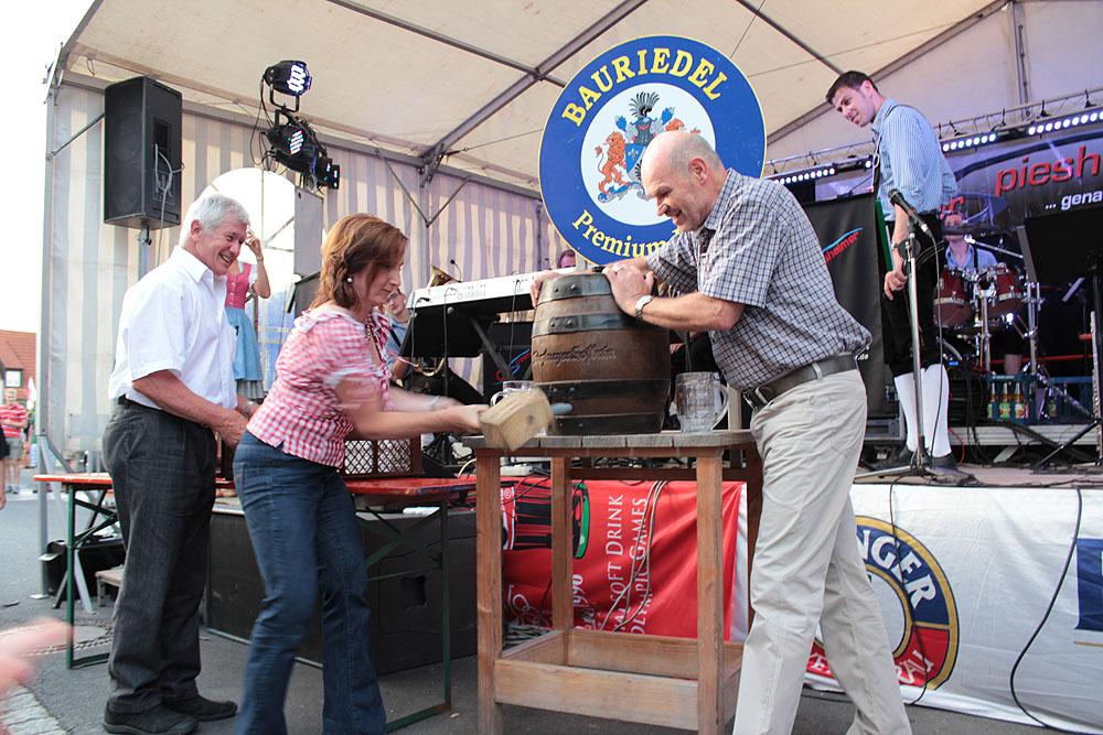 Backhäuslesfest in Eisingen im Juni 2012