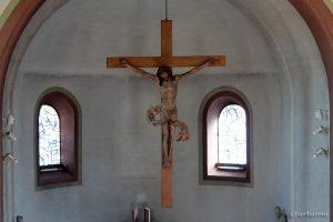 Riemenschneiderkreuz in der kath. Pfarrkirche St. Nikolaus in Eisingen