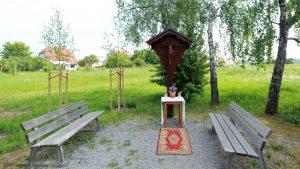 Kister Kreuz an der Kister Straße in Eisingen