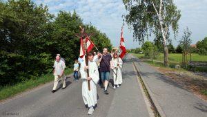 Flurprozession zum Kister Kreuz in Eisingen
