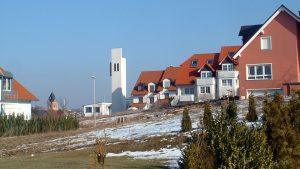 St. Nikolauskirche und Philippuskirche am 23. Februar 2003
