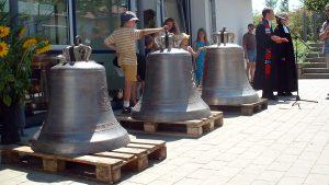 Glockenweihe Philippuskirche am 19. Juli 2003