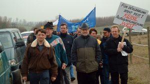 Demo gegen die geplante Westumgehung am 14. Februar 2004