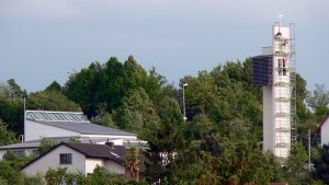 Ein Turmkreuz für die Philippuskirche am 11. Mai 2007