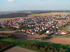 Westlicher Ortsrand von Eisingen