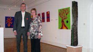 Kunst im Erbachshof - Motron A. Havelka und Elke Ungerbühler-Havelka am 13. April 2008