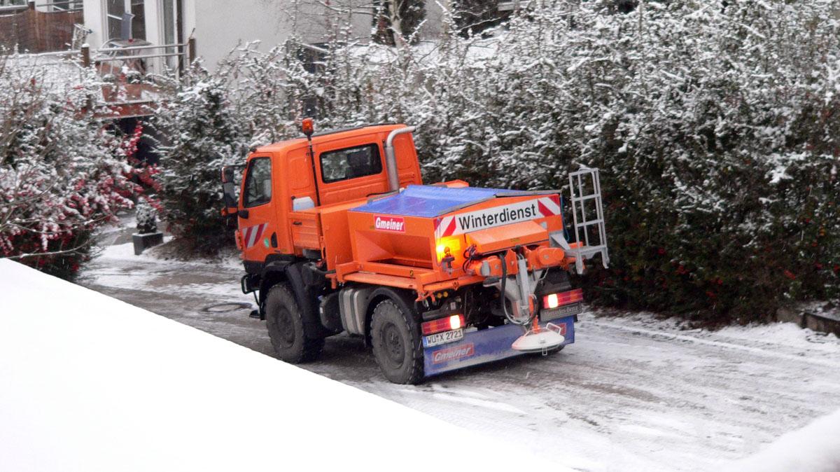Stadtreiniger für Winterdienst 2020/21 gut vorbereitet