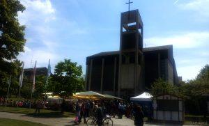 Stiftsfest am der St. Josefskirche am 14. Mai 2015