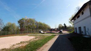 Freisportanlage der Gemeinde Eisingen am 18. April 2018
