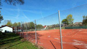 Tennisplätze der Tennisabteilung des TSV Eisingen